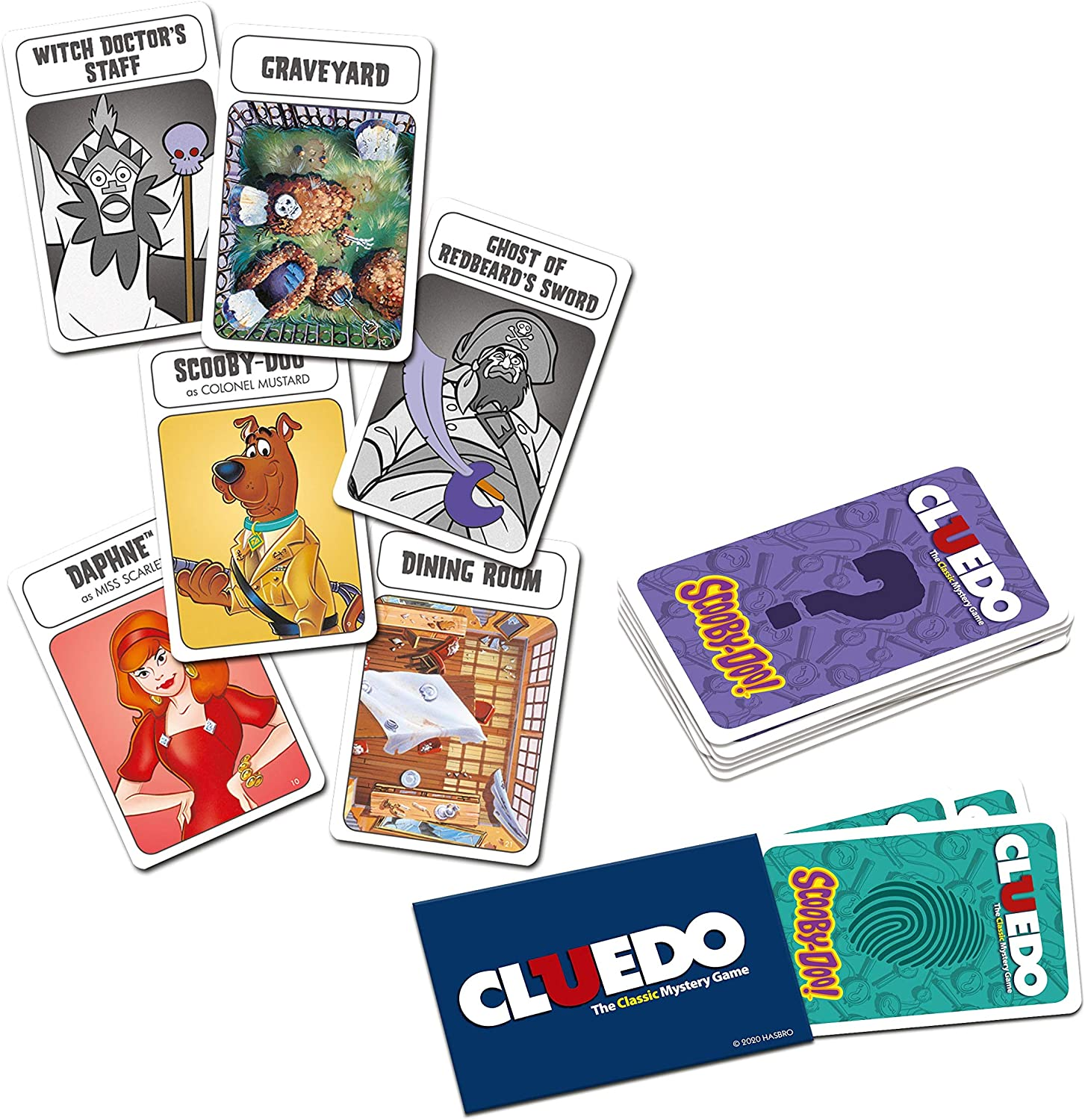 Scooby Doo Cluedo Mystery Latest Edition Board Game