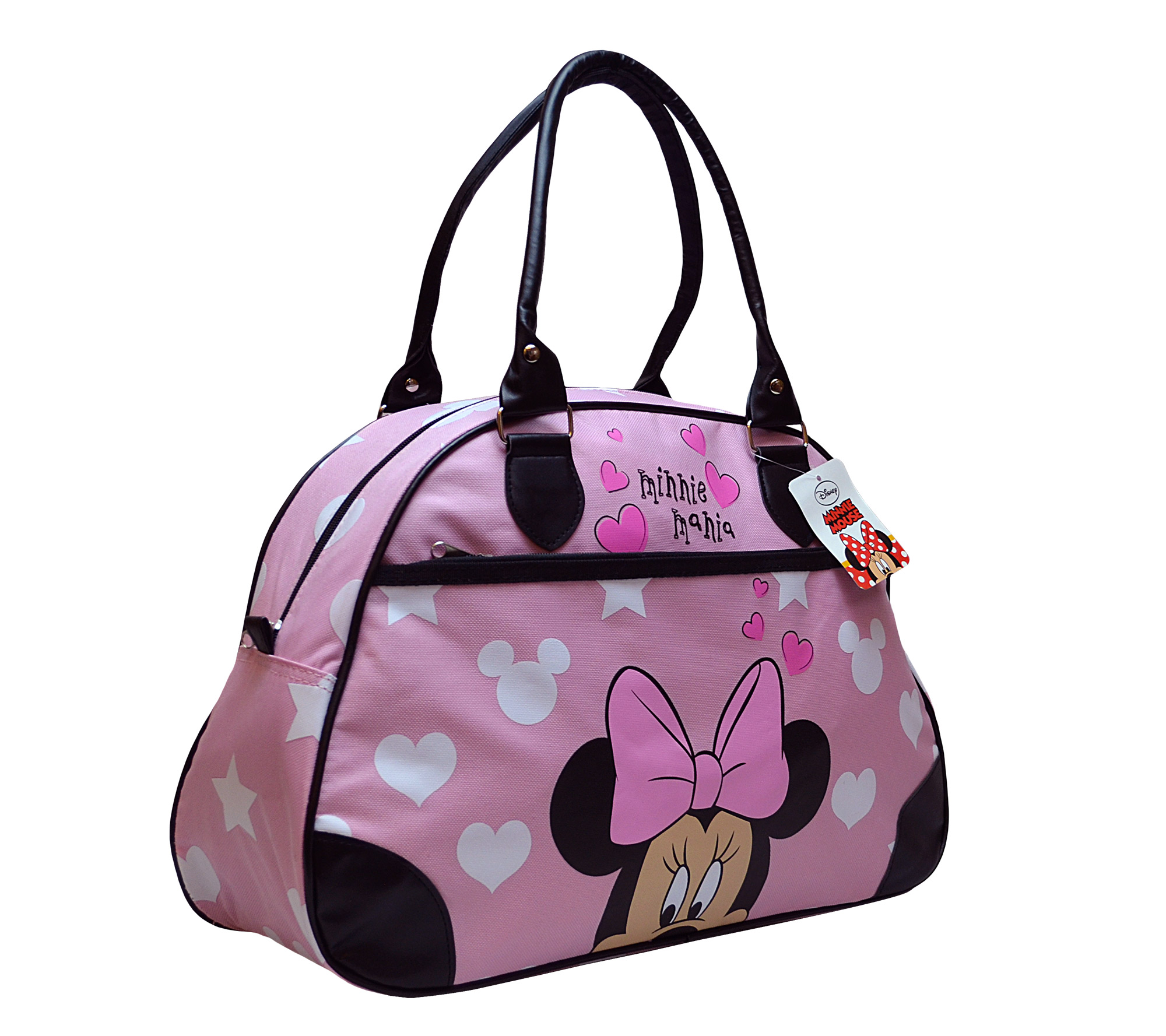 Disney Minnie Mouse Girls Holdall Overnight Travel Bowling School Shoulder Bag