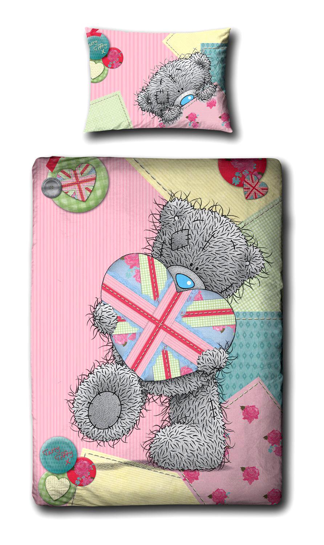 Childrens-Characters-Single-Bed-Quilt-Duvet-Cover-amp-Pillowcase-Kids-Bedding-Set thumbnail 179