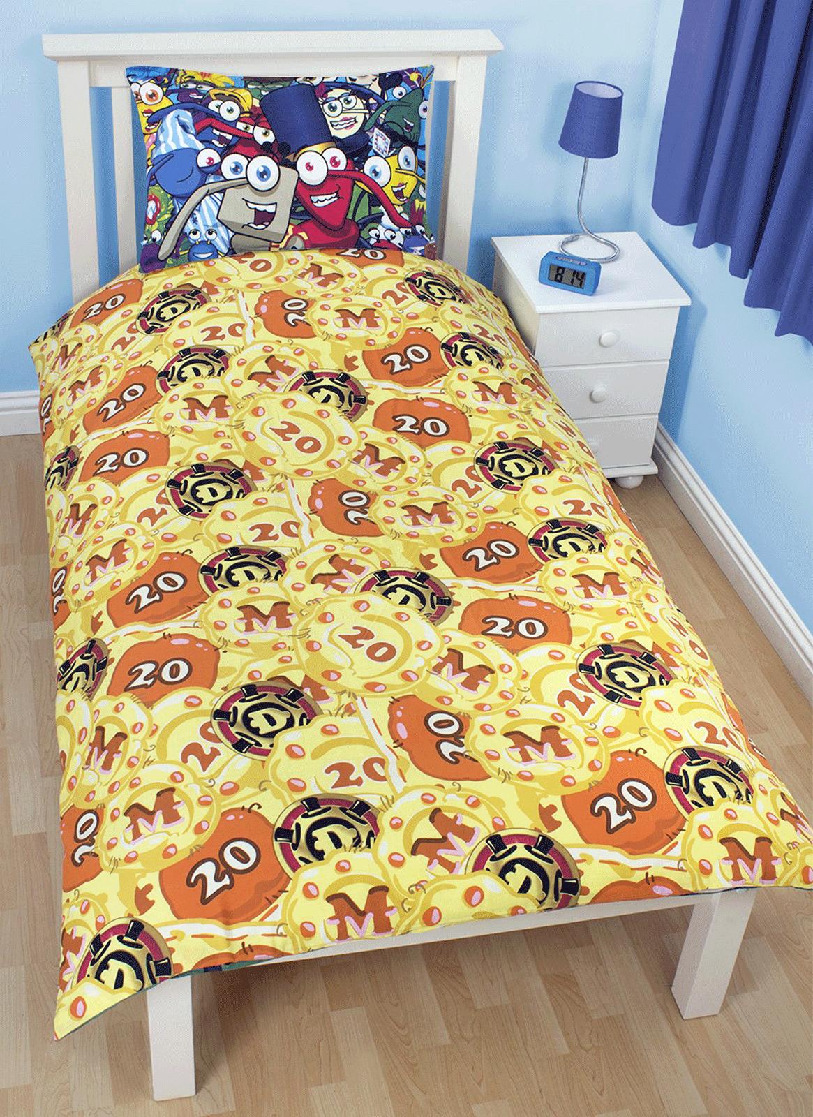 Childrens-Characters-Single-Bed-Quilt-Duvet-Cover-amp-Pillowcase-Kids-Bedding-Set thumbnail 164