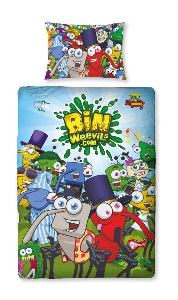 Childrens-Characters-Single-Bed-Quilt-Duvet-Cover-amp-Pillowcase-Kids-Bedding-Set thumbnail 165