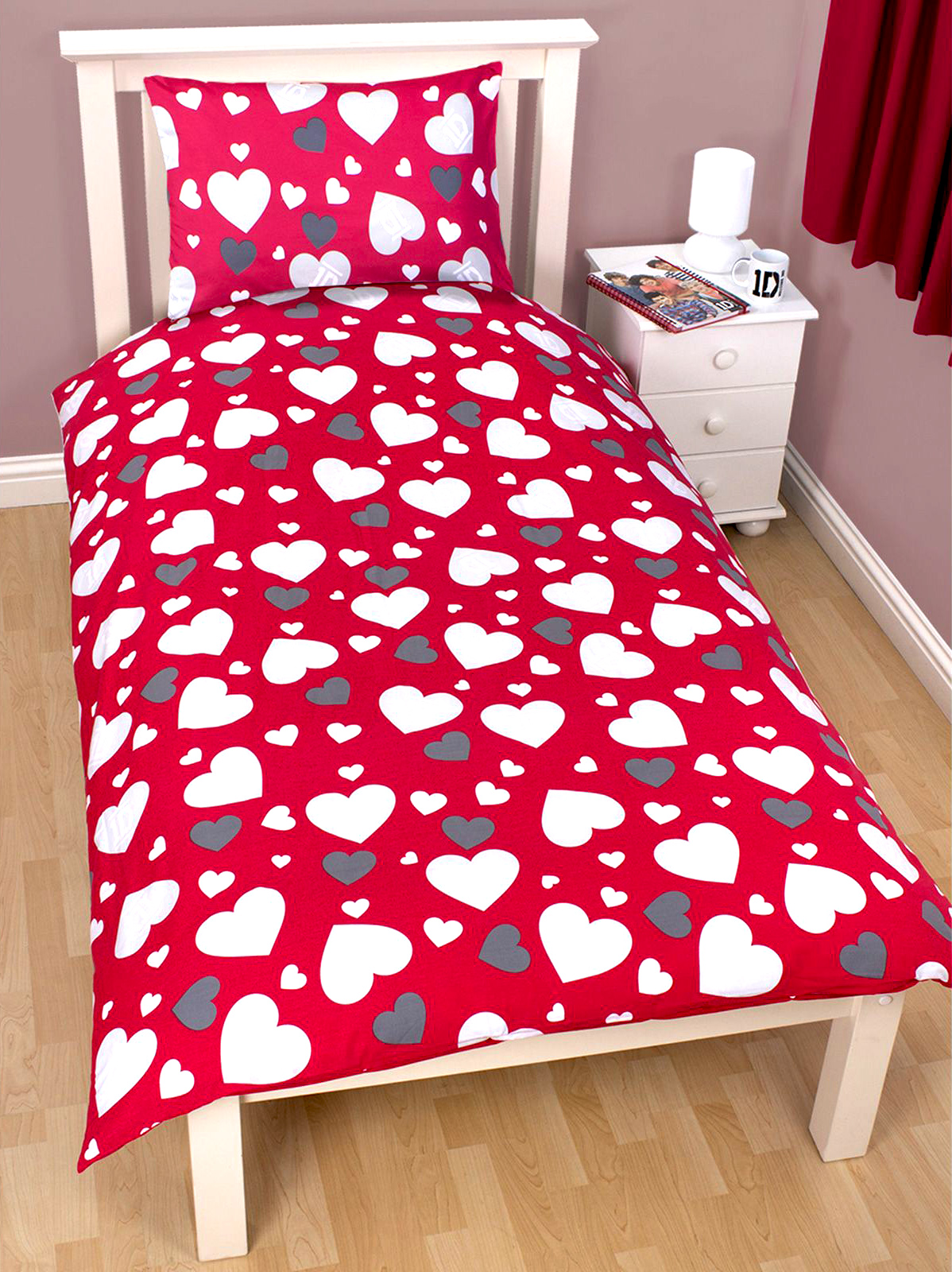 Childrens-Characters-Single-Bed-Quilt-Duvet-Cover-amp-Pillowcase-Kids-Bedding-Set thumbnail 160