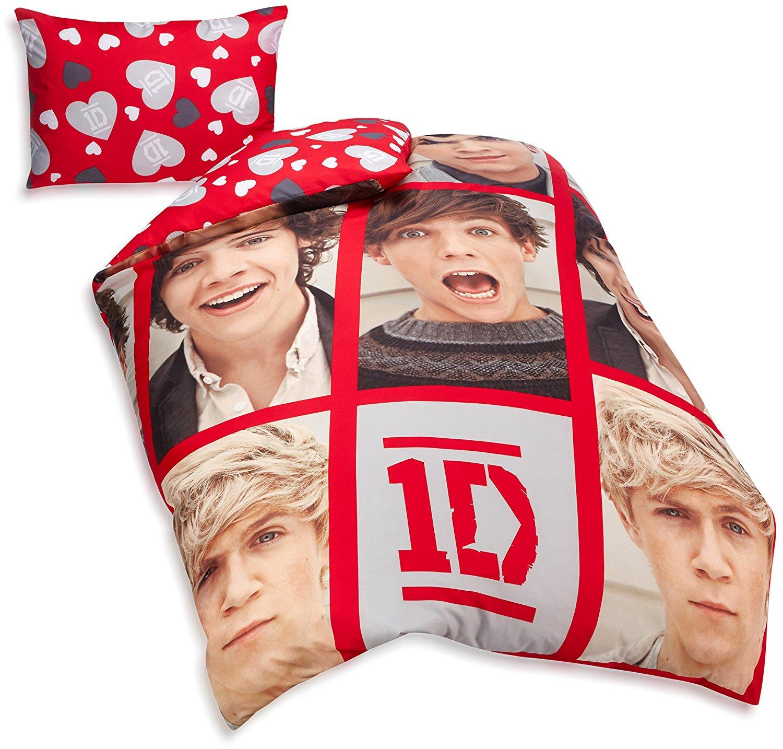 Childrens-Characters-Single-Bed-Quilt-Duvet-Cover-amp-Pillowcase-Kids-Bedding-Set thumbnail 162