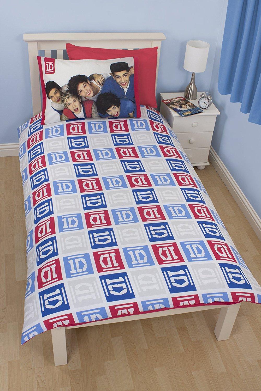 Childrens-Characters-Single-Bed-Quilt-Duvet-Cover-amp-Pillowcase-Kids-Bedding-Set thumbnail 147