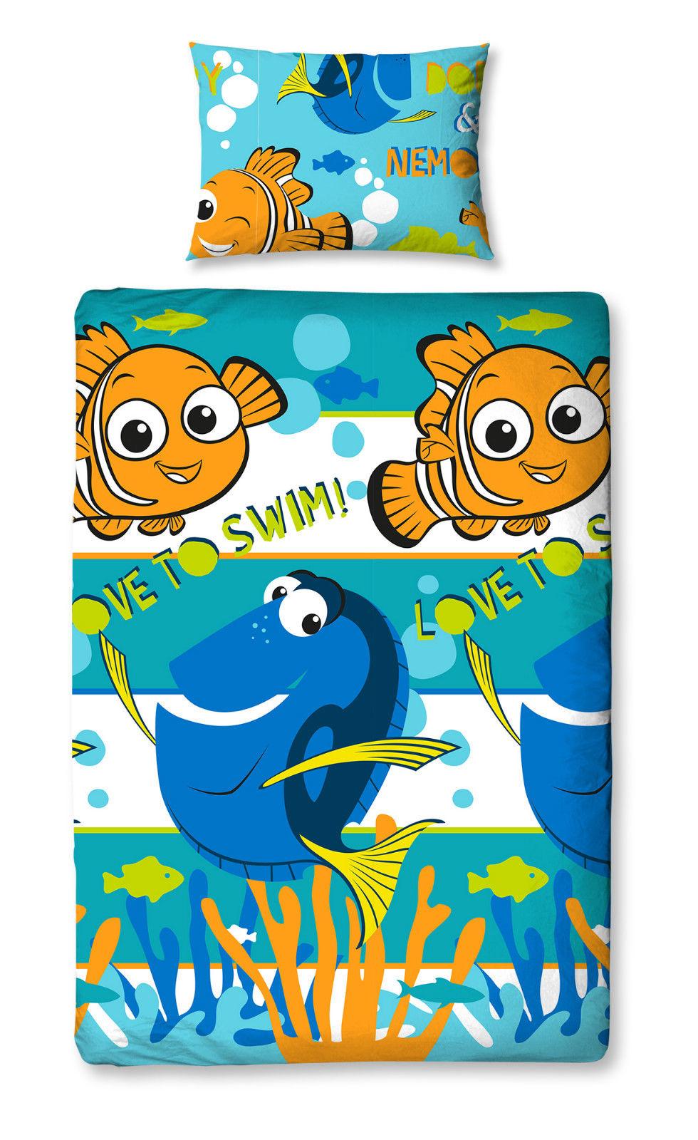 Childrens-Characters-Single-Bed-Quilt-Duvet-Cover-amp-Pillowcase-Kids-Bedding-Set thumbnail 123