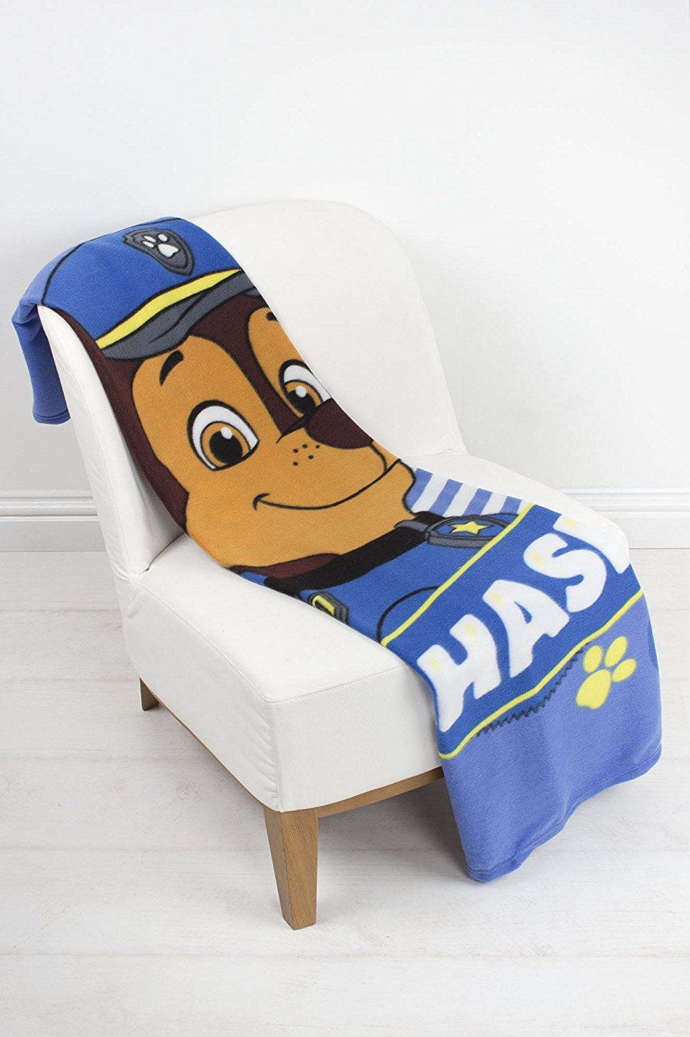 Paw Patrol 'Pawsome' Panel Fleece Blanket Throw