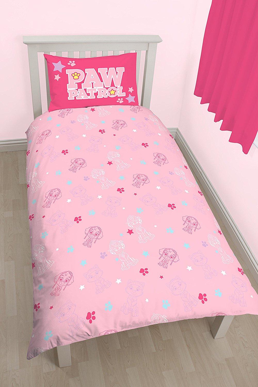 Childrens-Characters-Single-Bed-Quilt-Duvet-Cover-amp-Pillowcase-Kids-Bedding-Set thumbnail 108