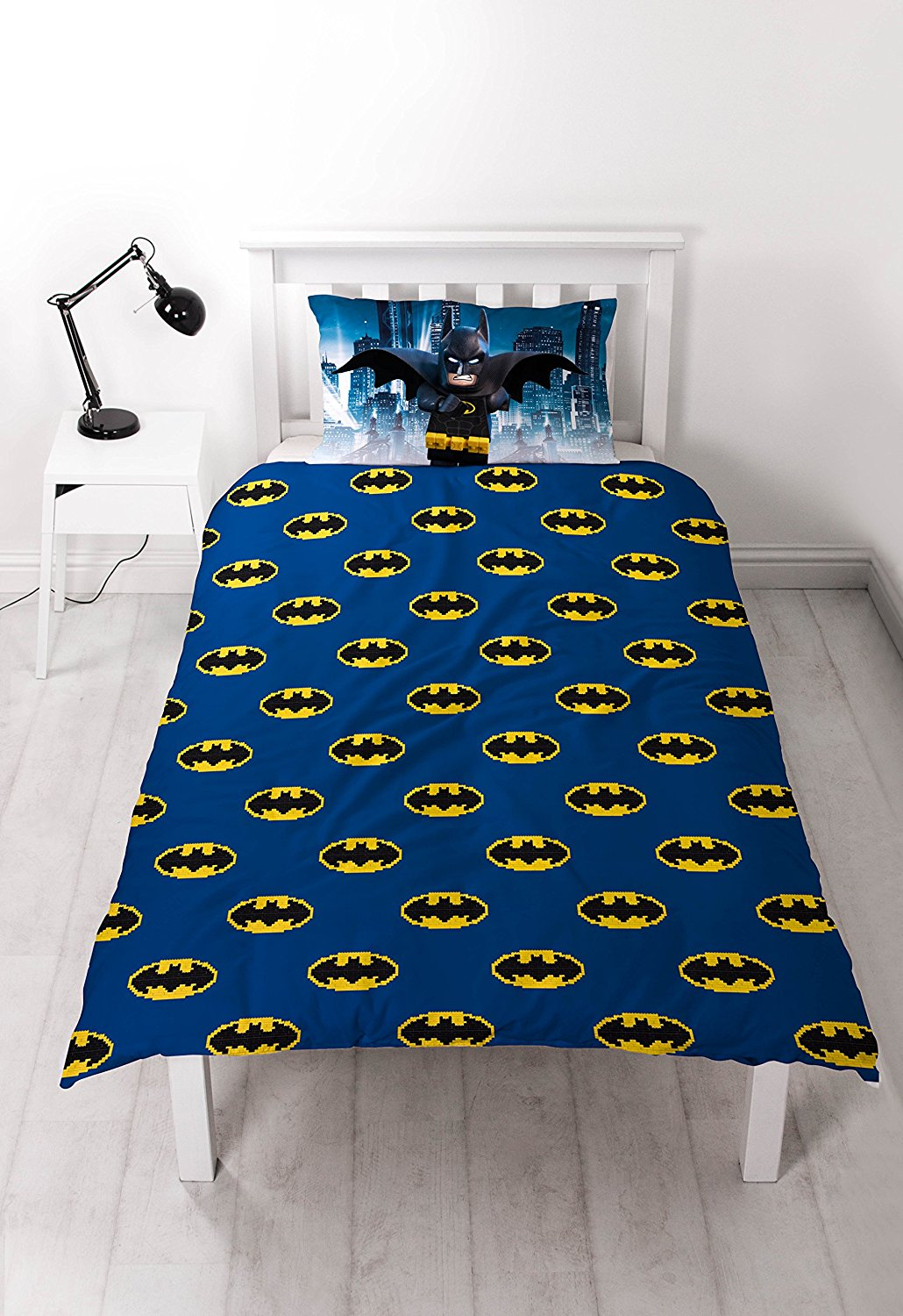 Lego Batman Movie Hero Reversible Panel Single Bed Duvet