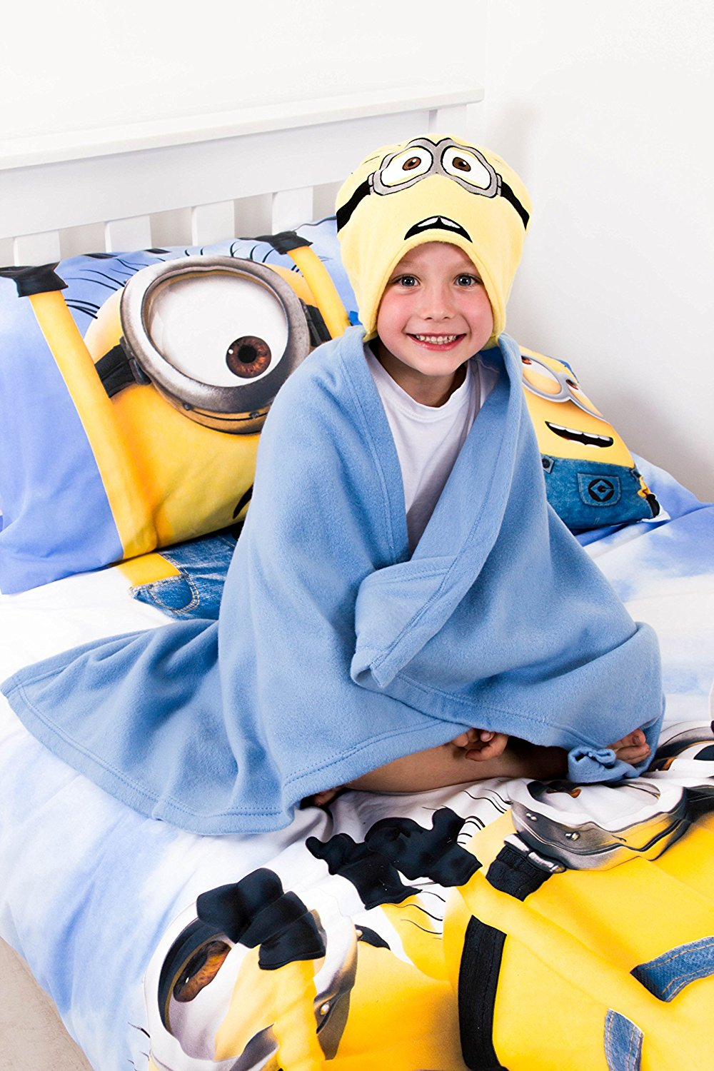 Despicable Me Minion 'Ahoy' One Size Cuddle Robe
