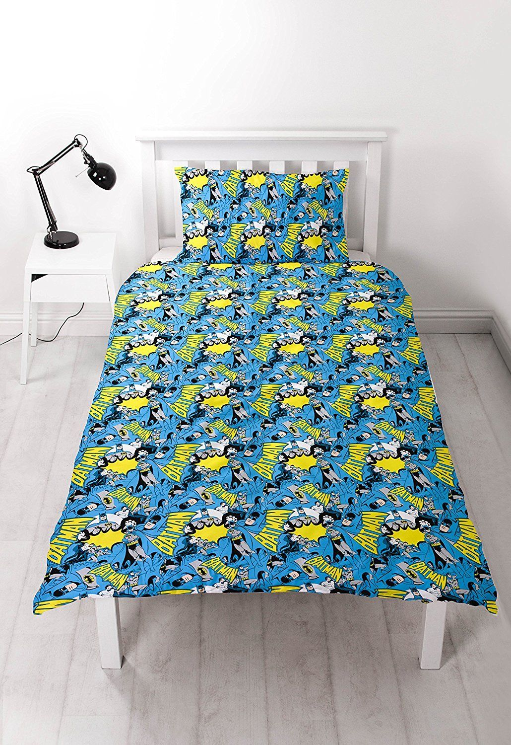 Childrens-Characters-Single-Bed-Quilt-Duvet-Cover-amp-Pillowcase-Kids-Bedding-Set