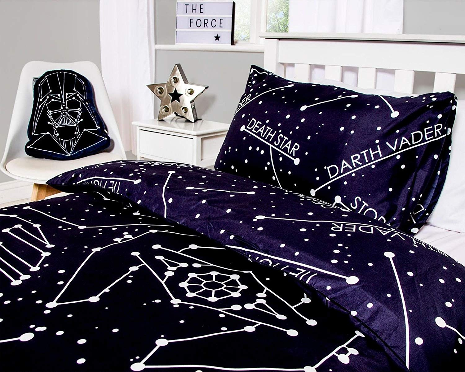 Star Wars Stellar Reversible Rotary Single Bed Duvet