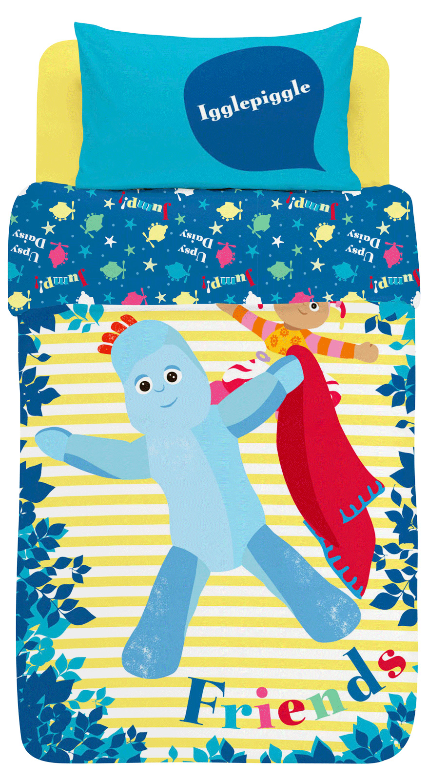 Childrens-Characters-Single-Bed-Quilt-Duvet-Cover-amp-Pillowcase-Kids-Bedding-Set thumbnail 136