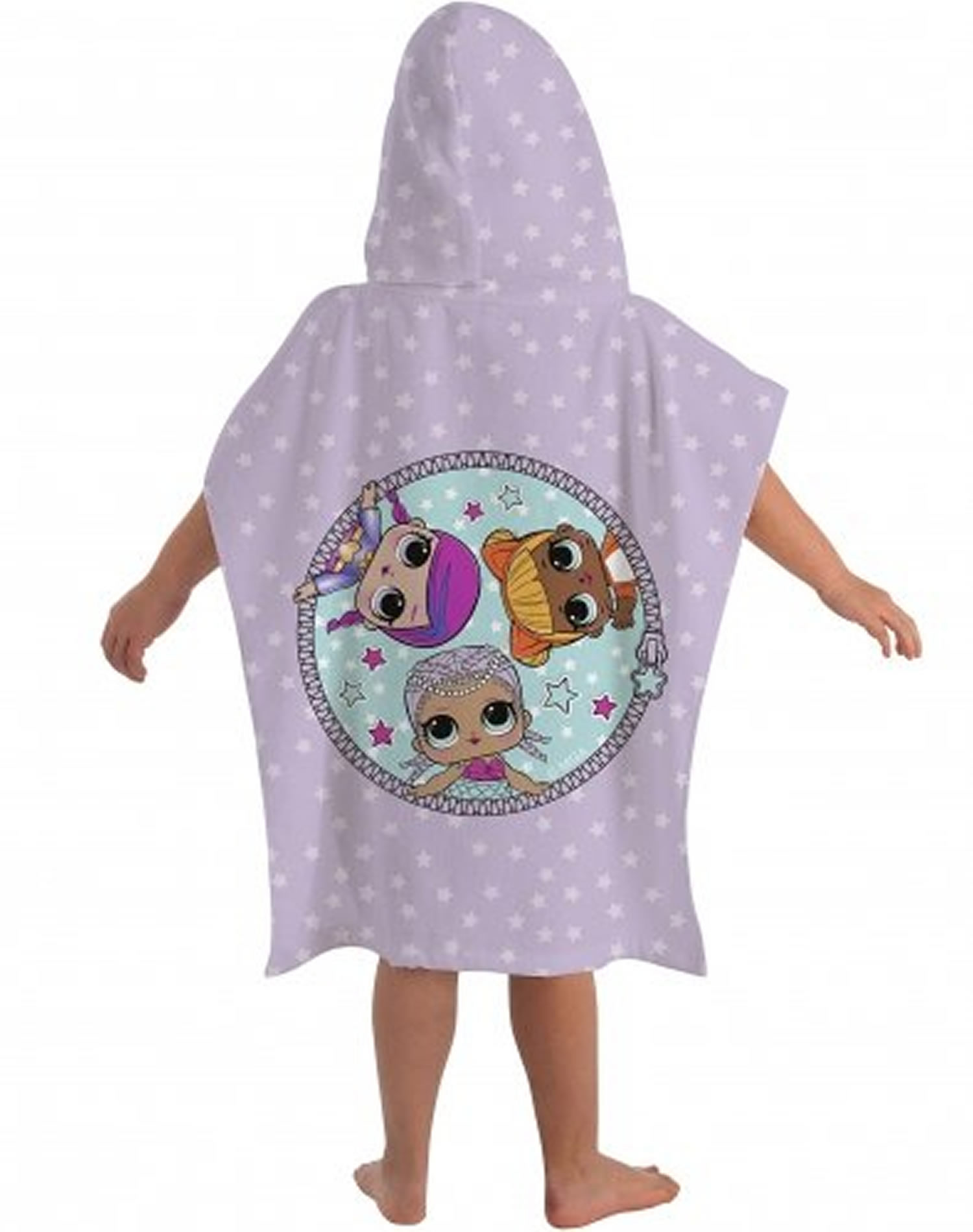 L.o.l Surprise Theatre Club Poncho Towel