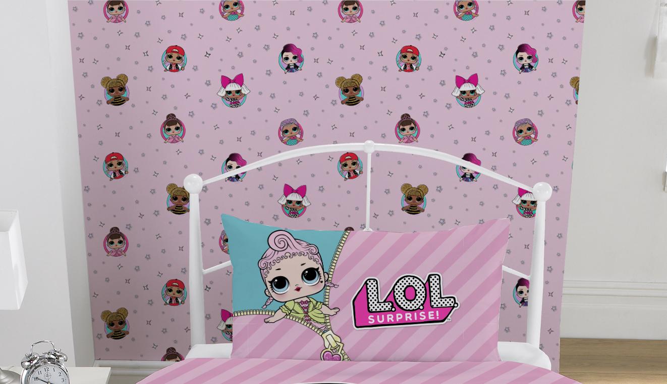 Lol Surprise Friends Wall Paper Decoration