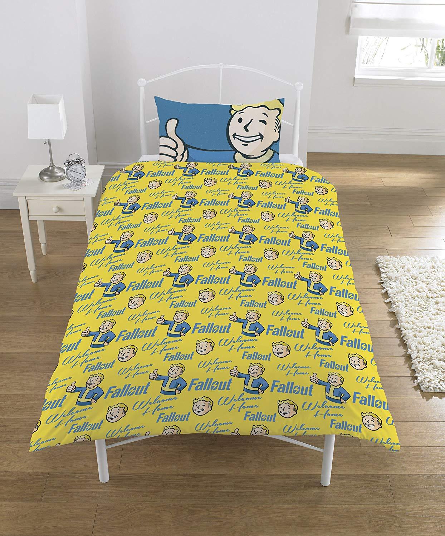 Fallout Polycotton Panel Single Bed Duvet Quilt Cover Set