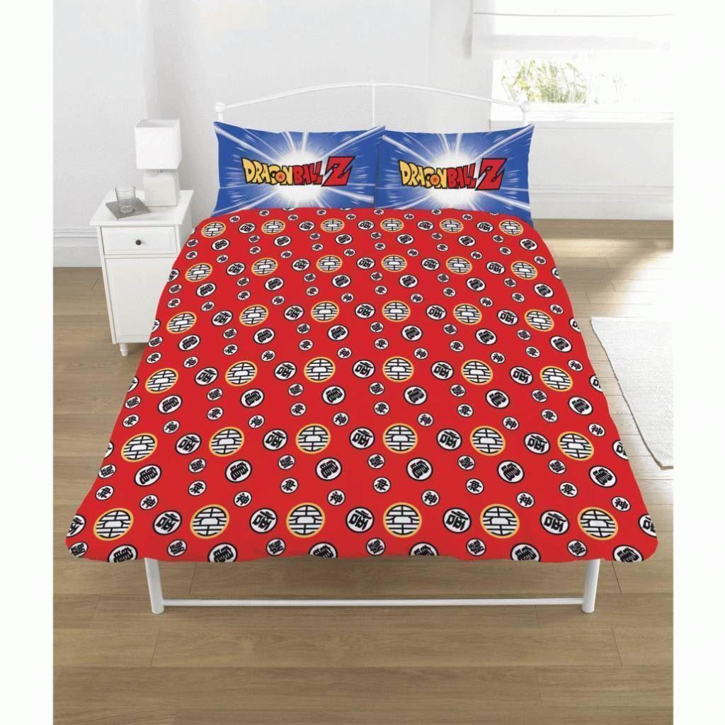 Dragon Ball Z Battle Panel Double Bed Duvet Quilt Cover Set