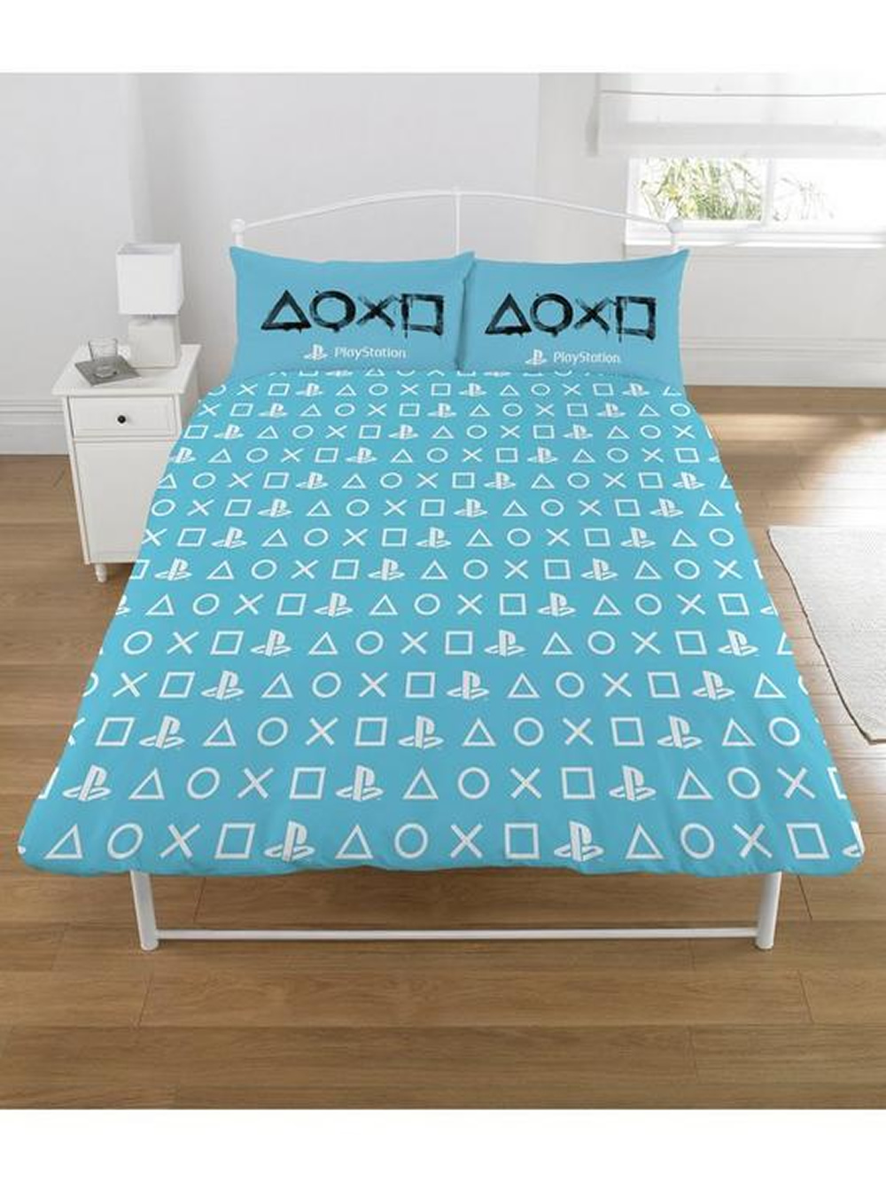 Sony Playstation Panel King Bed Duvet Quilt Cover Set