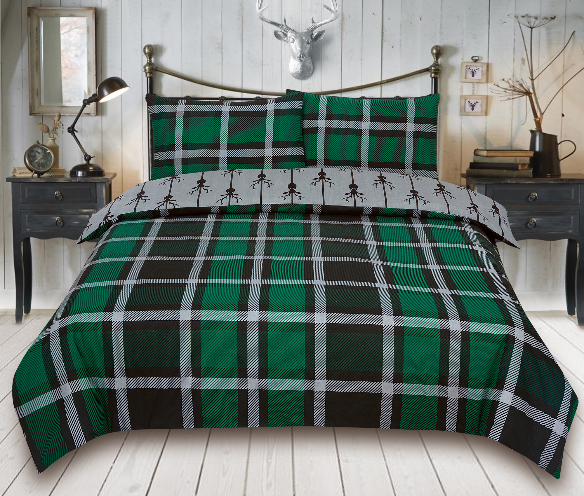 Duvet-Cover-with-Pillow-Case-Quilt-Cover-Bedding-Set-in-Single-Double-King-size miniatura 6