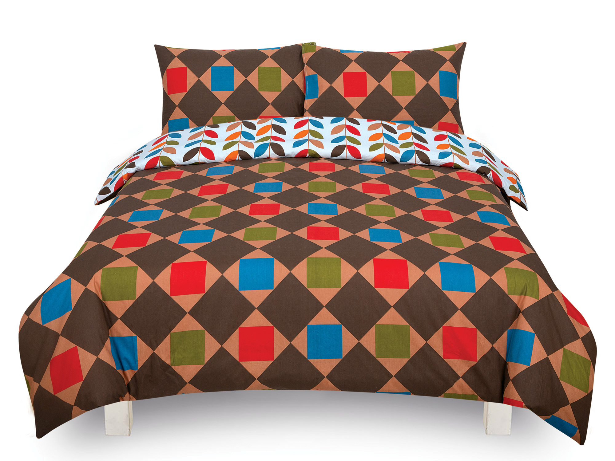 Duvet-Cover-with-Pillow-Case-Quilt-Cover-Bedding-Set-in-Single-Double-King-size miniatura 21