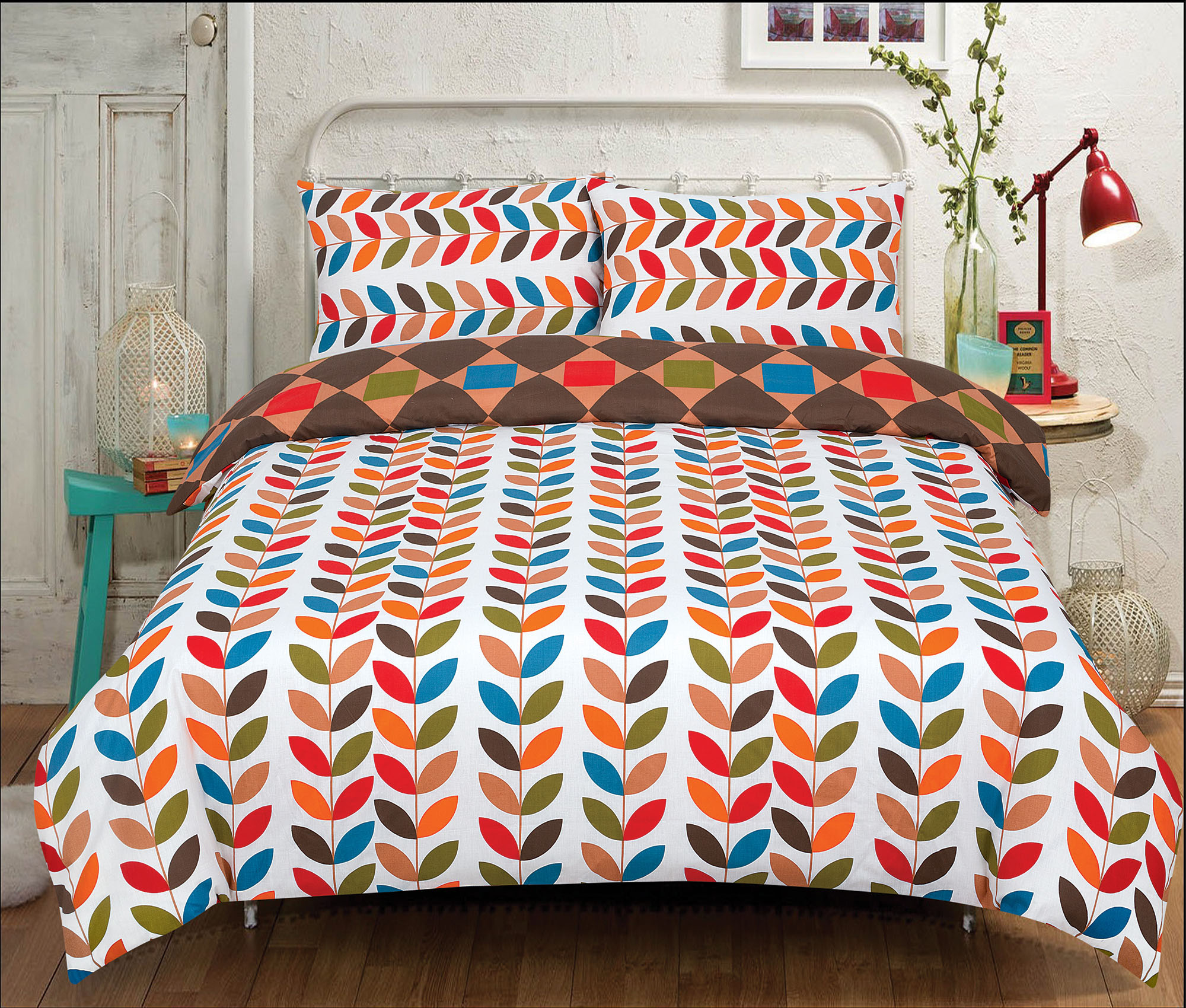 Duvet-Cover-with-Pillow-Case-Quilt-Cover-Bedding-Set-in-Single-Double-King-size miniatura 22