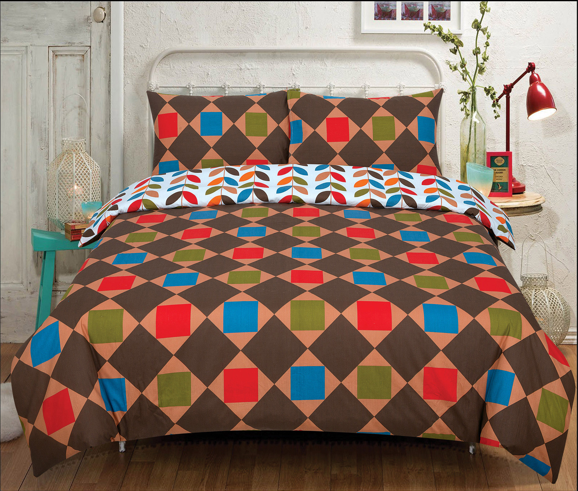 Duvet-Cover-with-Pillow-Case-Quilt-Cover-Bedding-Set-in-Single-Double-King-size miniatura 23