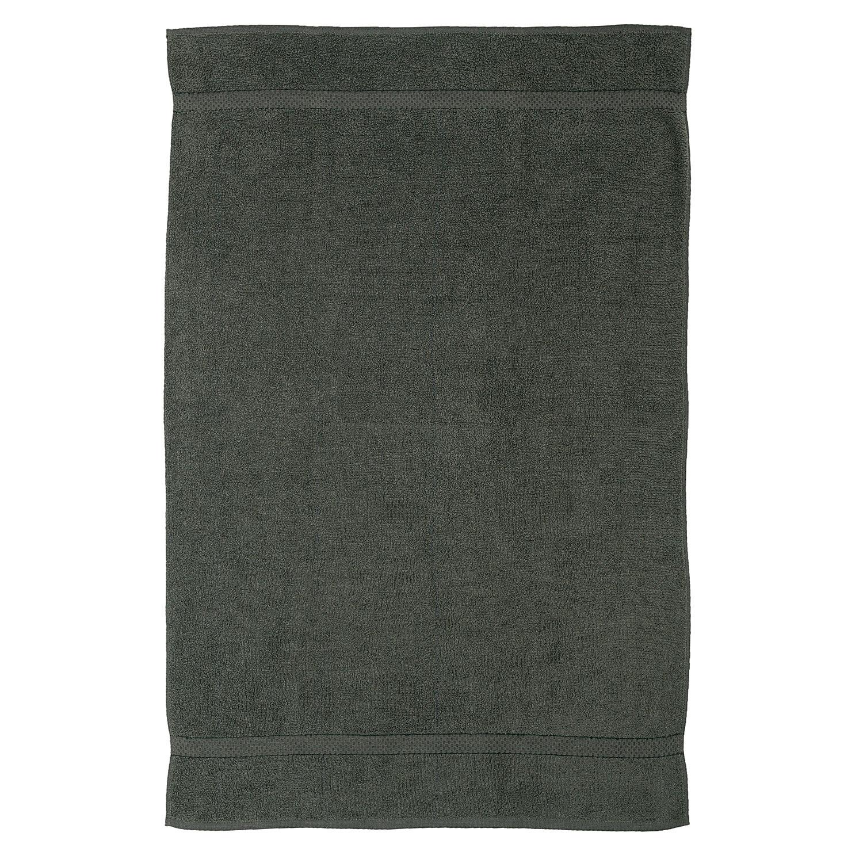 Towel 4 Pcs Dark Grey Premium Bale Set Plain Bath Sheet
