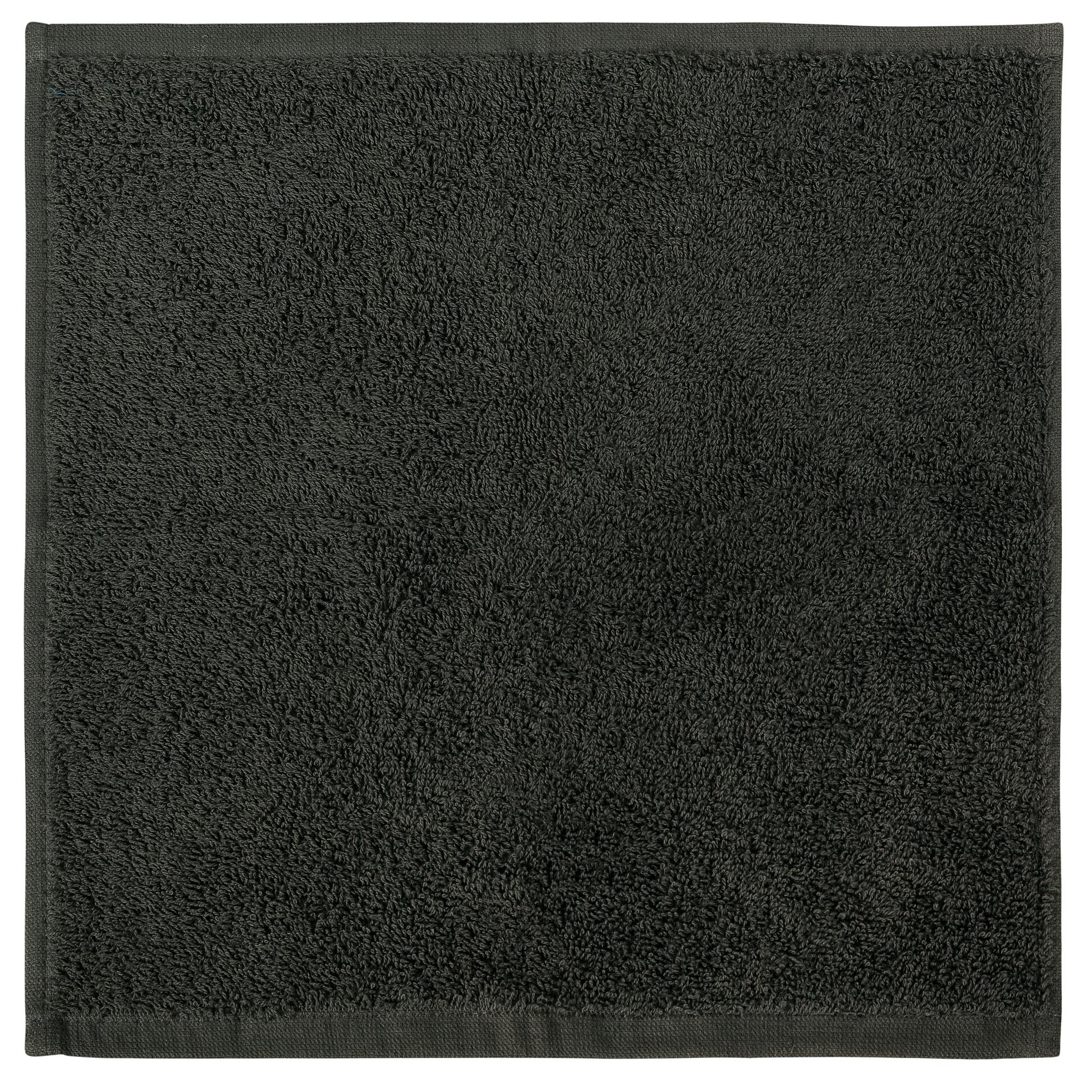 Bale Set 24pcs Charcoal Plain Face Towel
