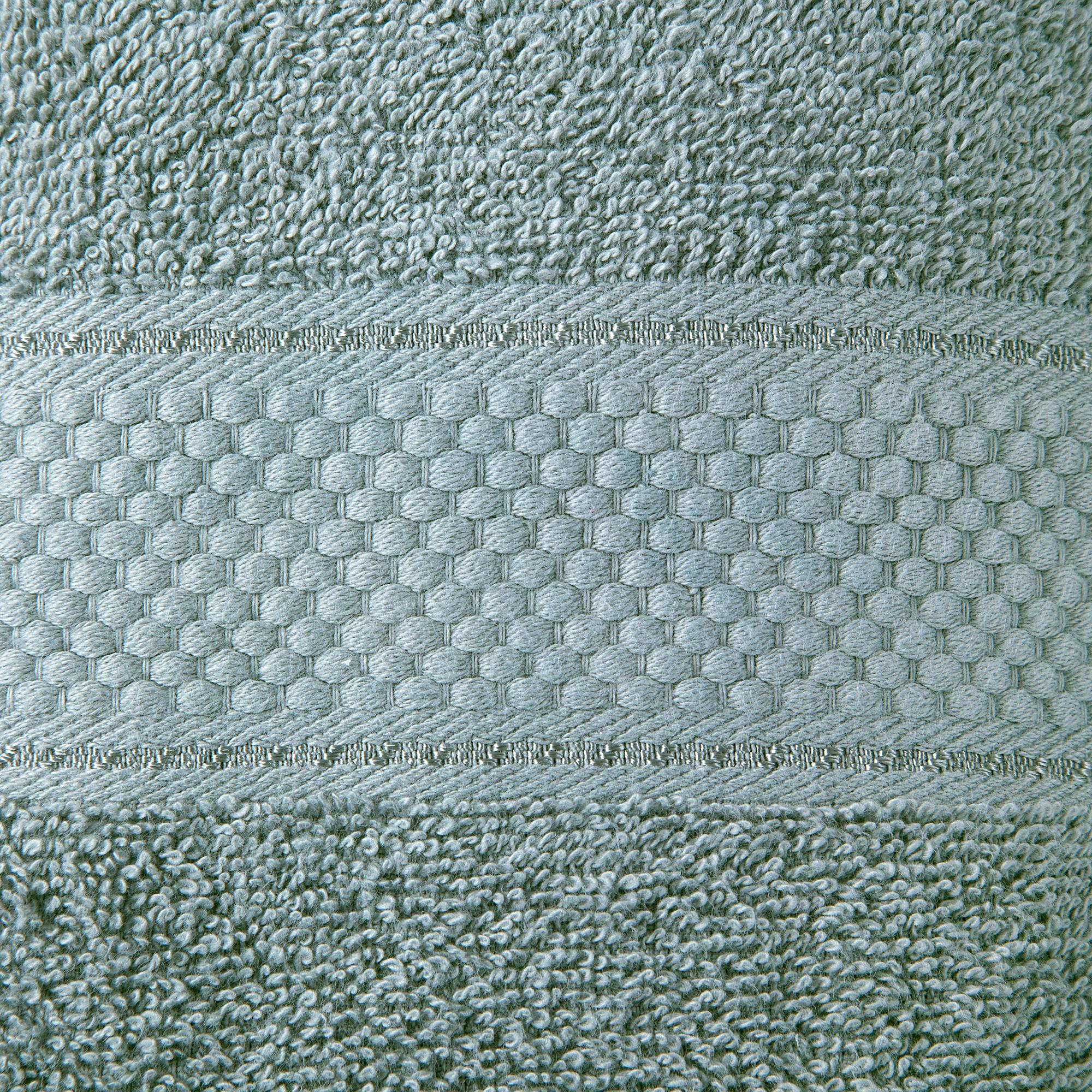2 Pcs 100 % Cotton Premium Bath Sheet Towel Bale Set Silver Plain