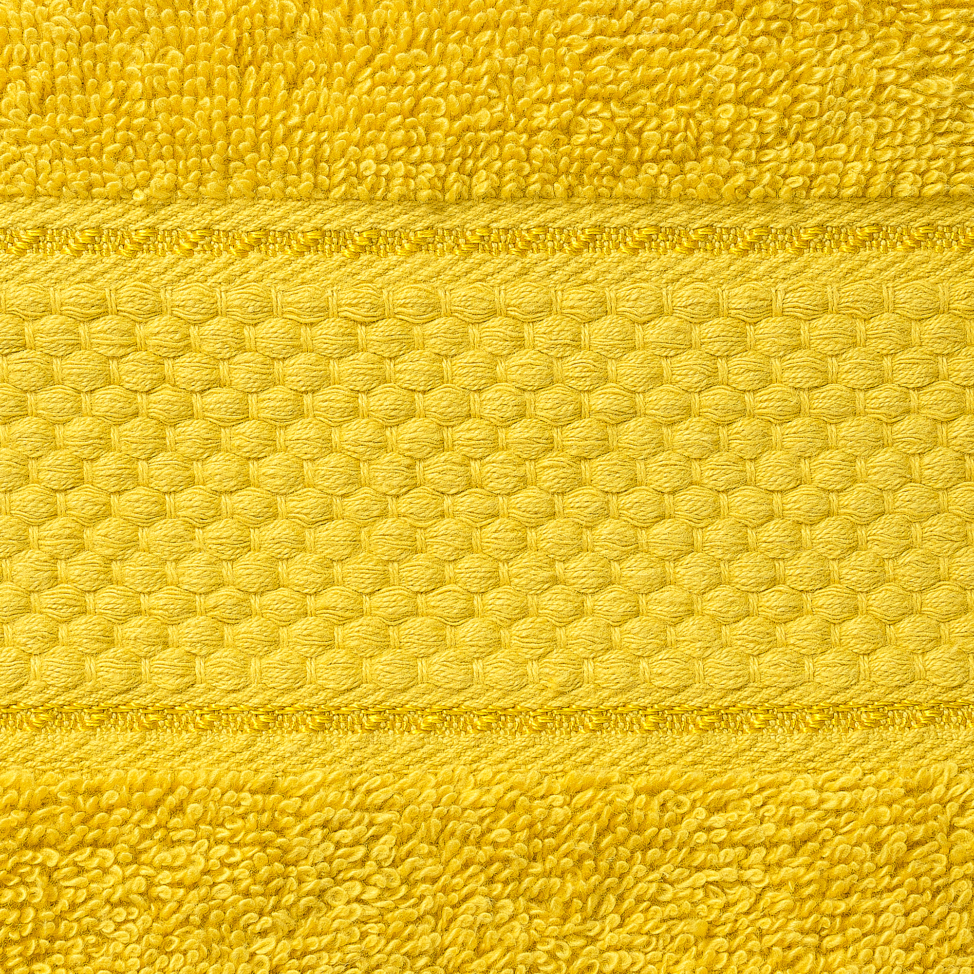 2 Pcs 100 % Cotton Premium Bath Sheet Towel Bale Set Mustard Plain
