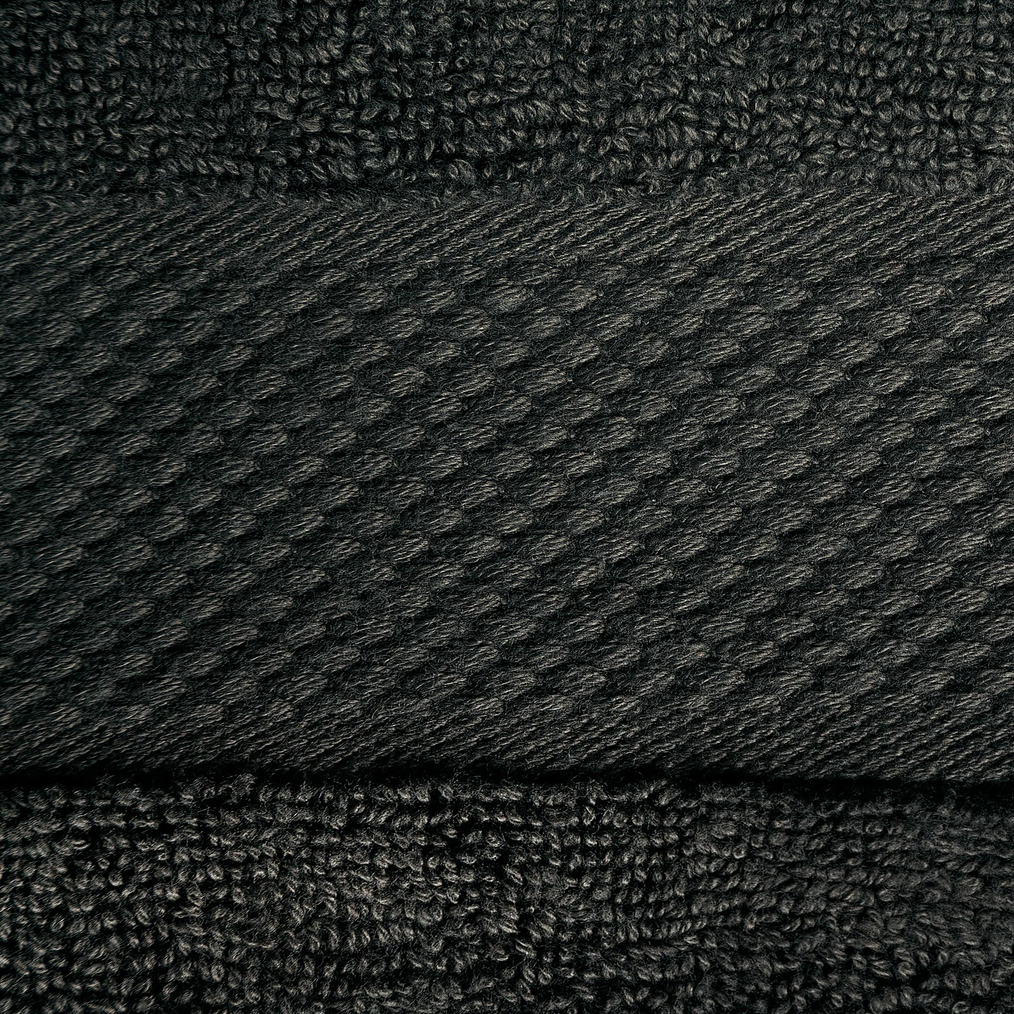 8pcs 700gsm Signature Range Black Plain 8 Pieces Bale Set Towel