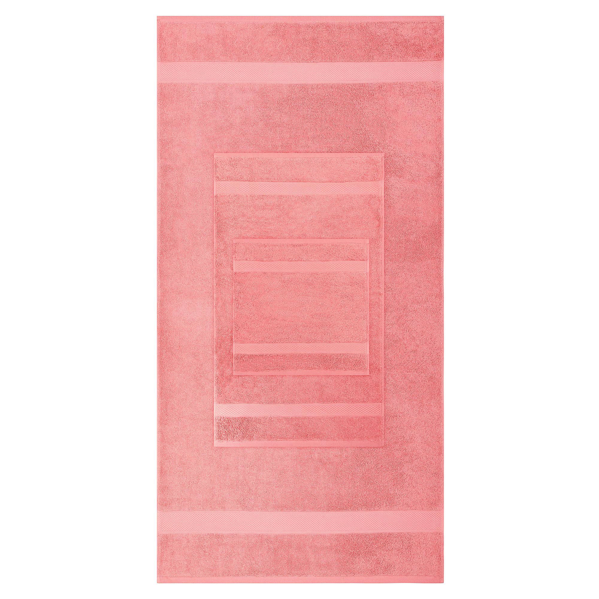 8pcs 700gsm Signature Range Dusty Pink Plain 8 Pieces Bale Set Towel