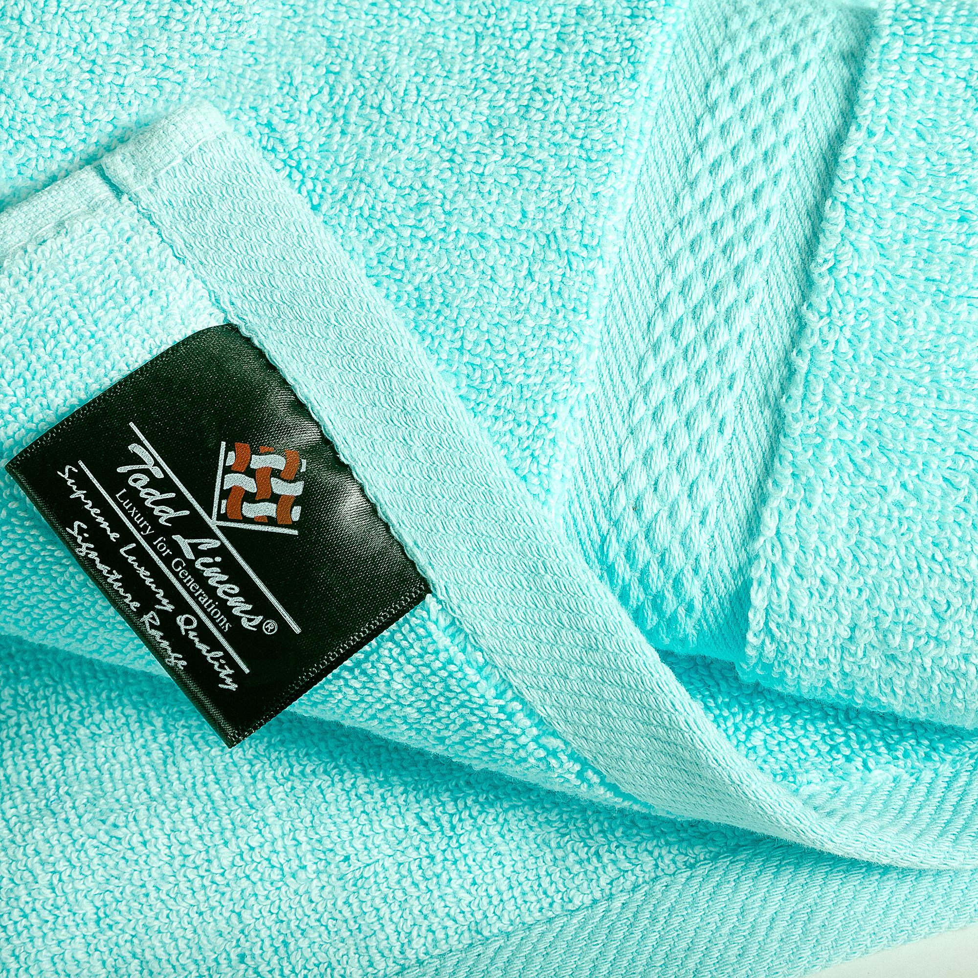8pcs 700gsm Signature Range Turquoise Plain 8 Pieces Bale Set Towel