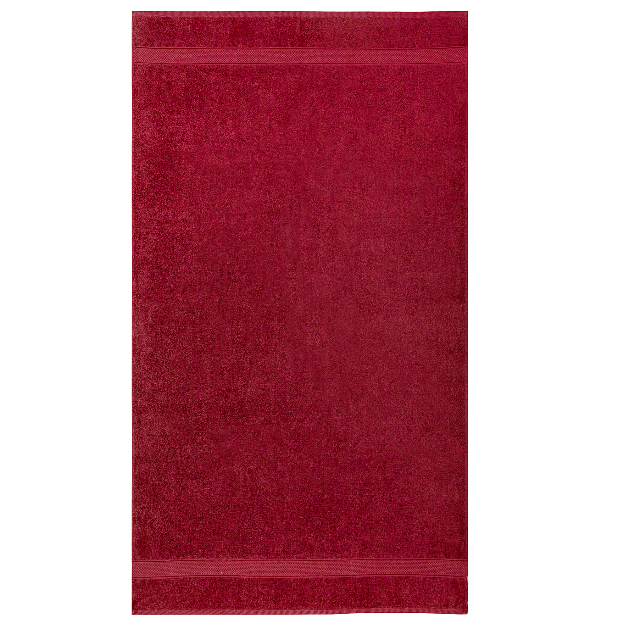 Bale Set 2pcs Burgundy Premium Plain Extra Large Bath Sheet Towel