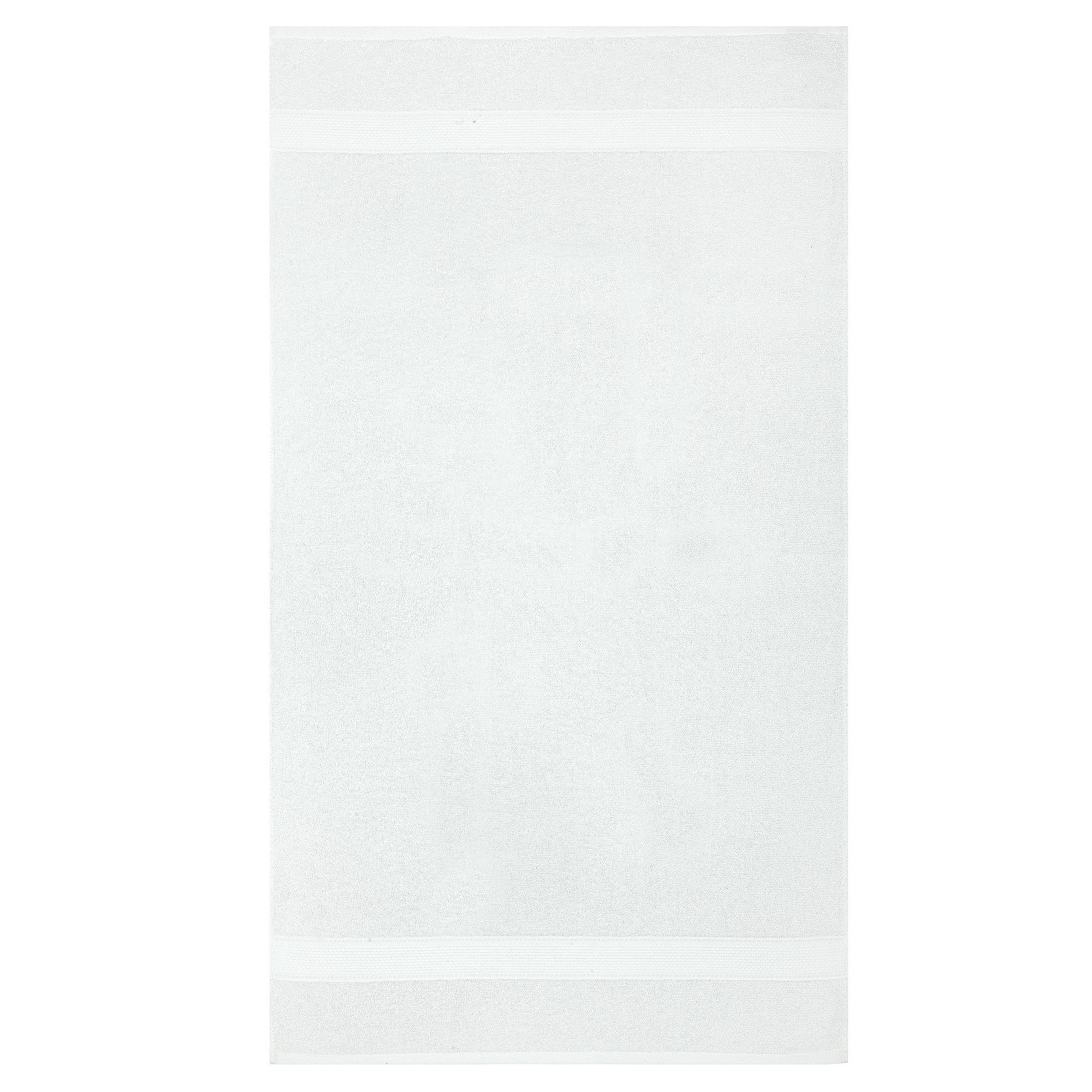 Bale Set 2pcs White Plain Extra Large Bath Sheet Towel