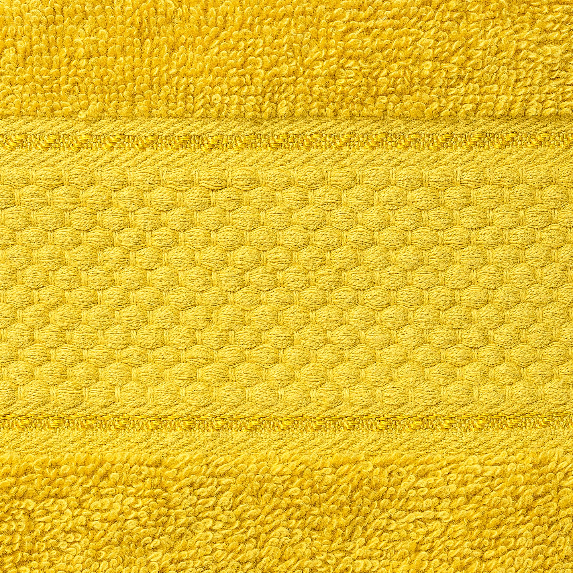 Bale Set 2pcs Mustard Premium Plain Extra Large Bath Sheet Towel