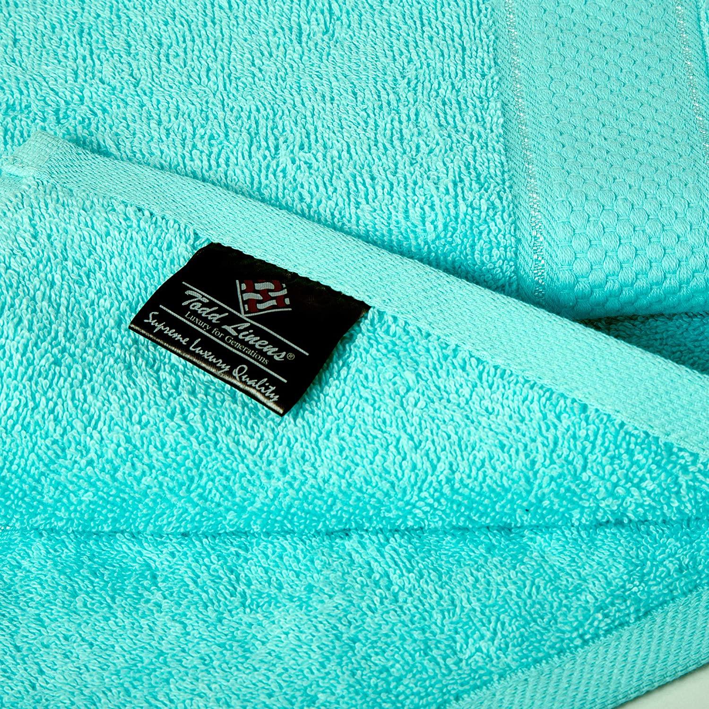 Bale Set 2pcs Turquoise Plain Extra Large Bath Sheet Towel