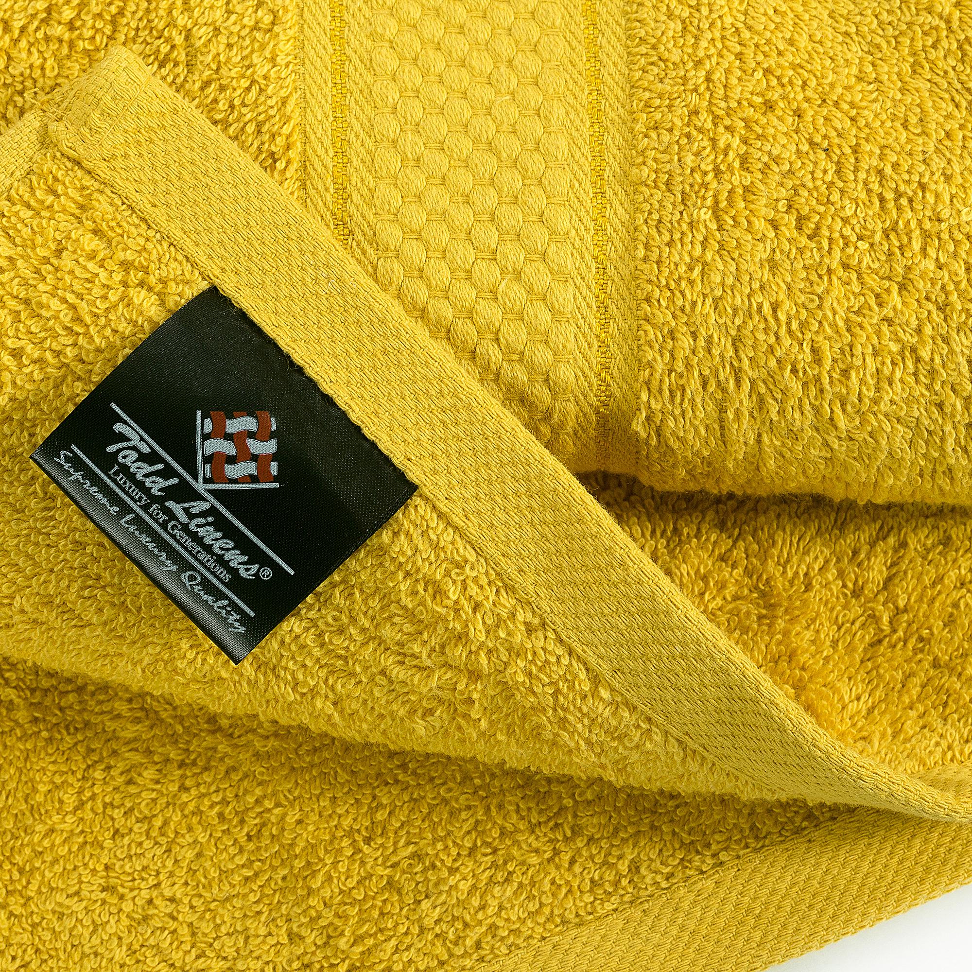 Bale Set 2pcs Mustard Plain Bath Towel