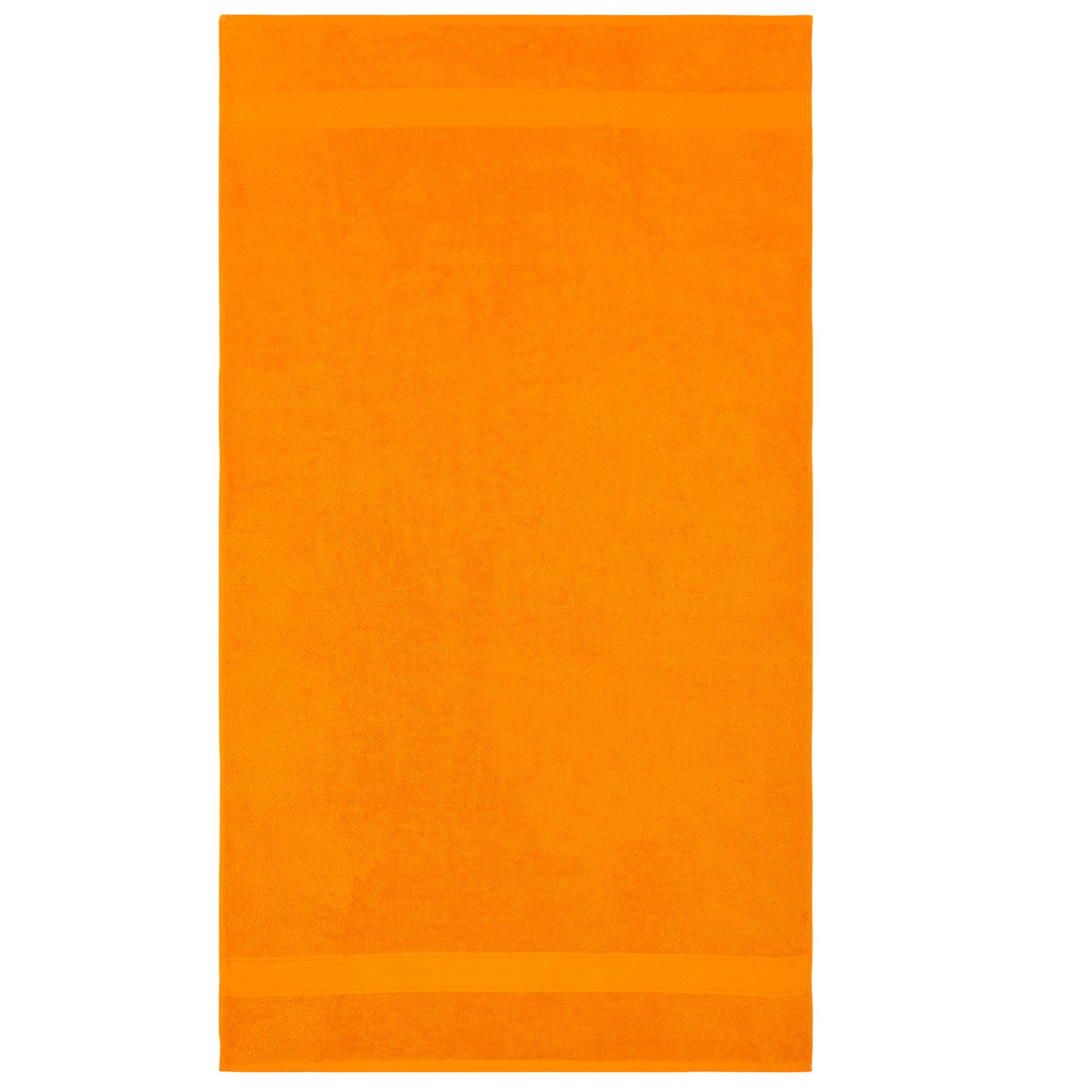 Bale Set 4pcs Orange Plain Hand Towel