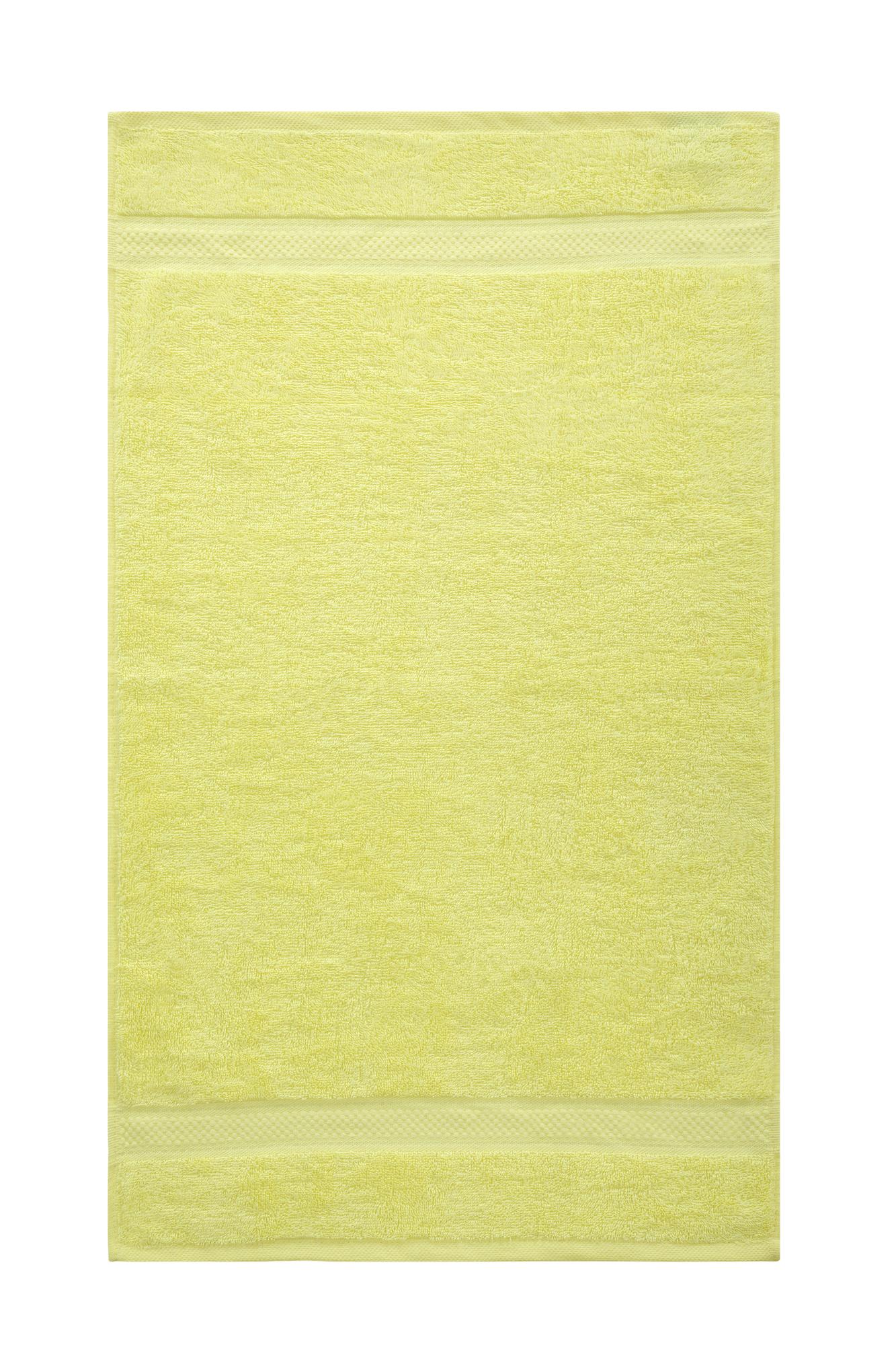 Bale Set 4pcs Lemon Plain Hand Towel