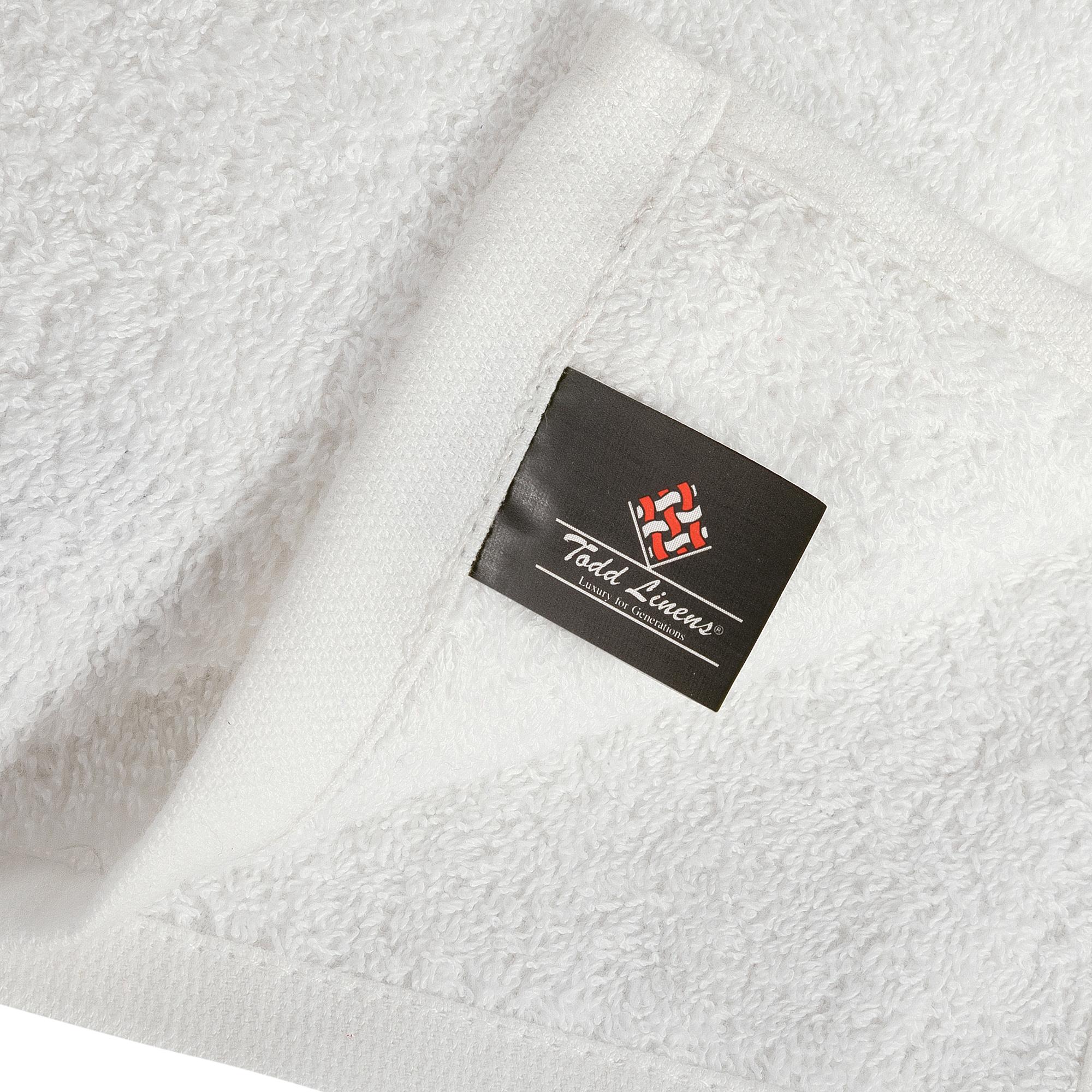 Bale Set 24pcs White Plain Face Towel