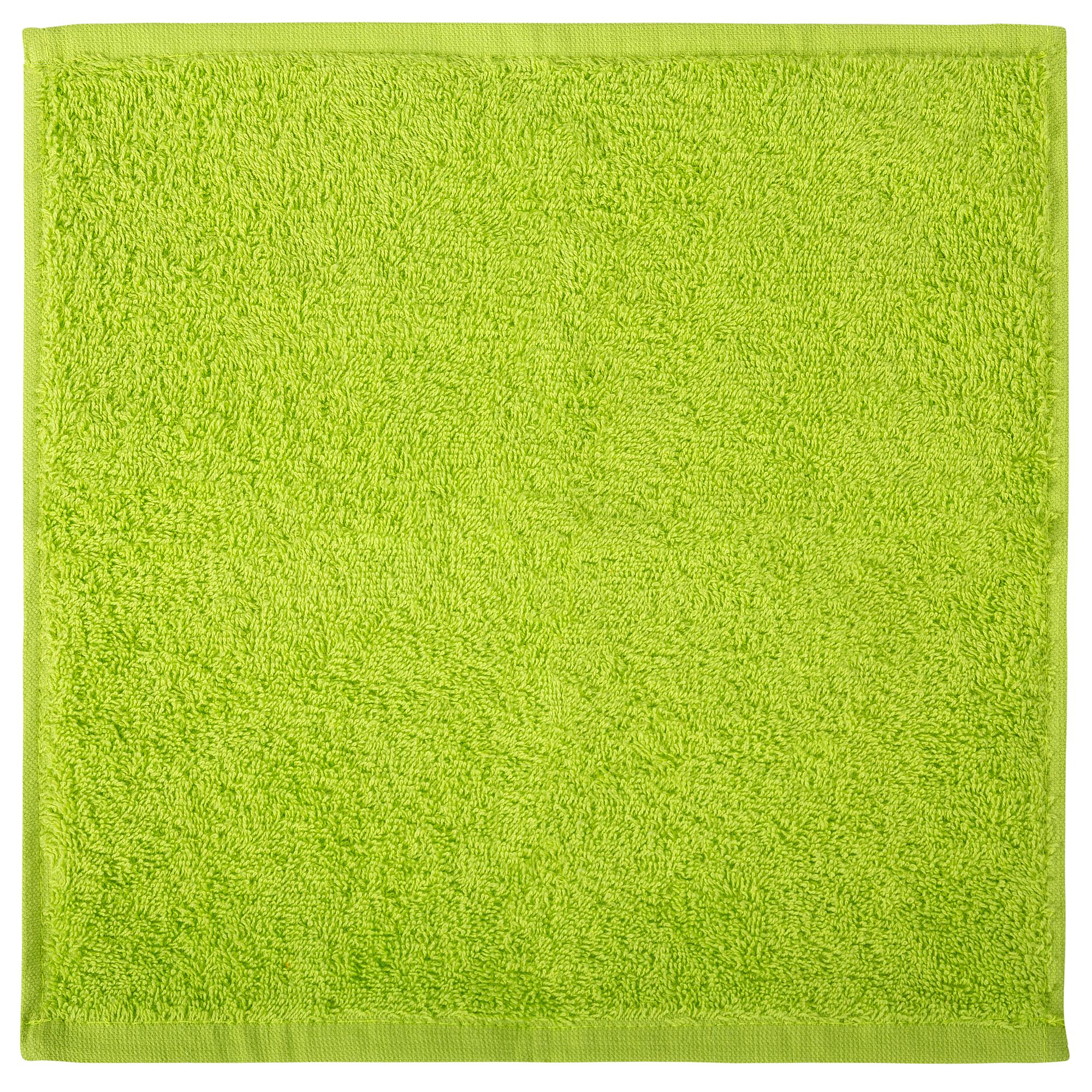 Bale Set 24pcs Lime Green Plain Face Towel
