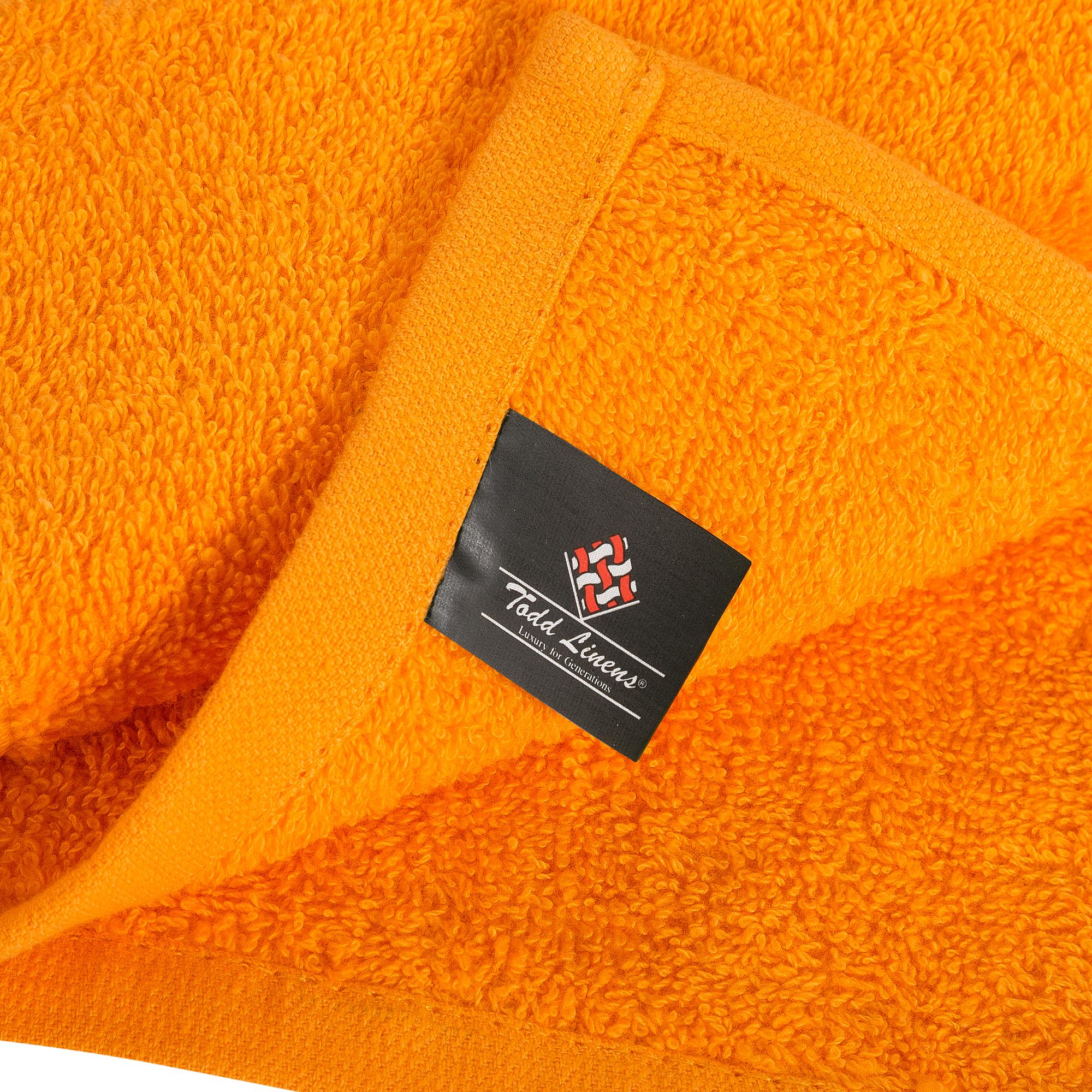 Bale Set 24pcs Orange Plain Face Towel