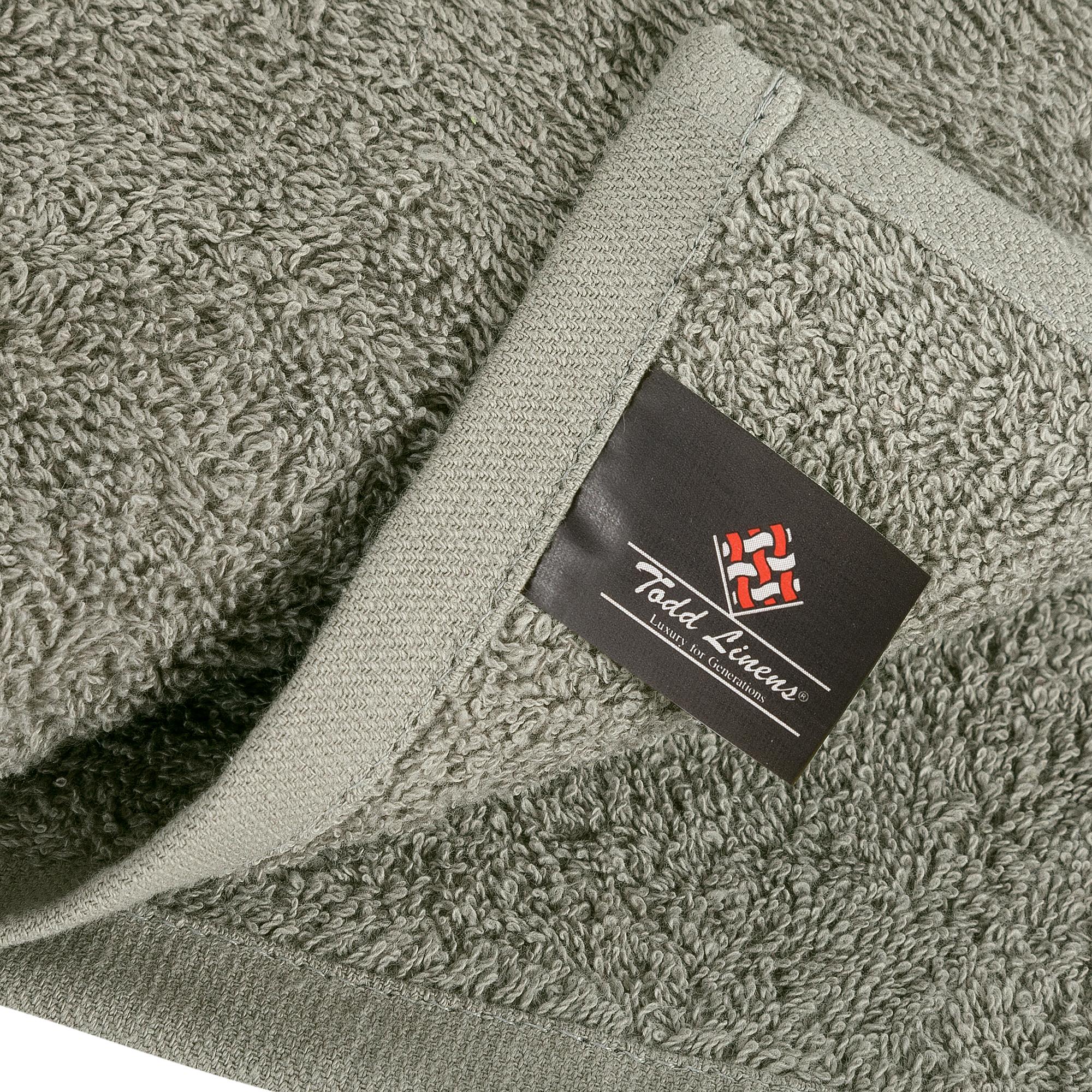 Bale Set 24pcs Ash Grey Plain Face Towel