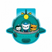 Octonauts 6 Pack Mini Notepad Stationery
