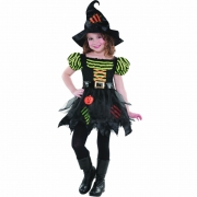Pumpkin Patch Witch 9-11 Years Costume