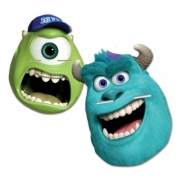 Disney Monster University 4 Pk Mask Party Accessories