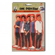 One Direction 5 Pk Bookmark Stationery