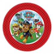Nickelodeon Paw Patrol 8 Pack 'Round 9 Inch' Plates Party Accessories