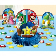 Super Mario Table Decorating Kit Party Accessories