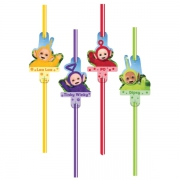 Teletubbies 8 Pack Straw Party Accessories